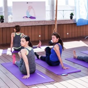 El Yoga dinámico cada vez es más popular