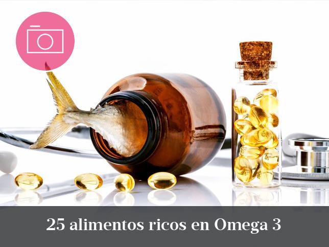 Los alimentos ricos en ácidos grasos Omega 3