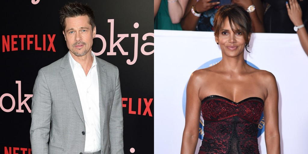 ¿Están juntos Brad Pitt y Halle Berry?