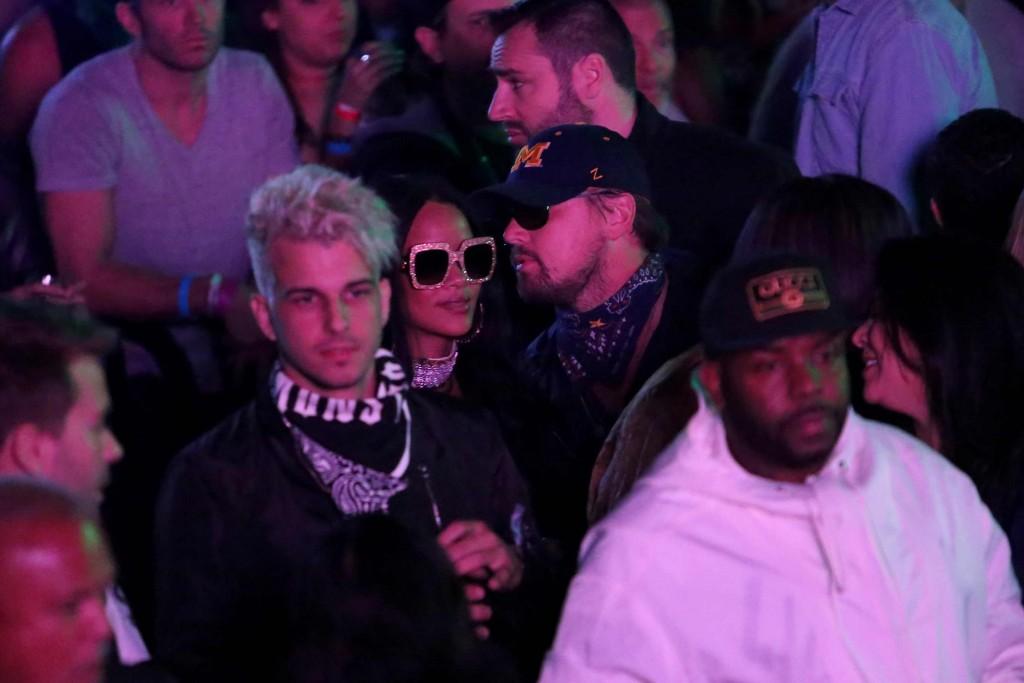 DiCaprio acude al cumpleaños de Rihanna