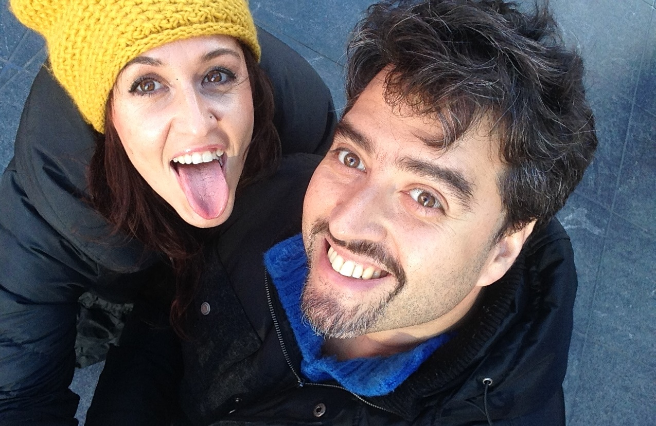 Marian Frías y Gon Campos