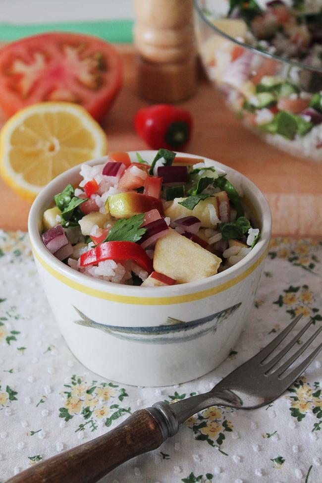 Nuestra receta de Ensalada de Arroz tiene ¡de todo!