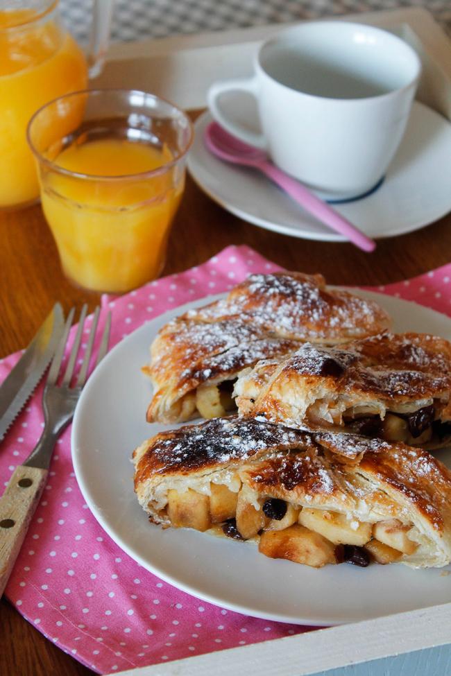 Strudel para el desayuno
