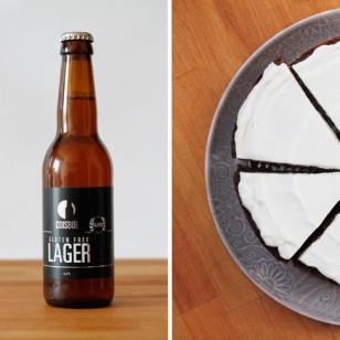Nuestra tarta de cerveza... ¡Sin gluten!