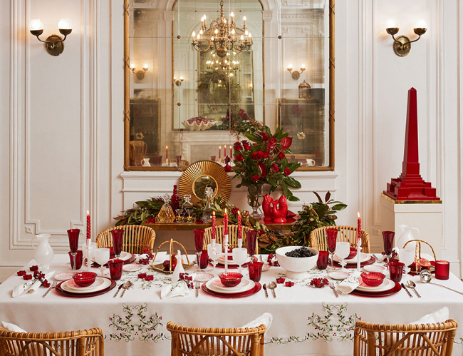 Aquí vemos la propuesta de Zara Home para esta Navidad