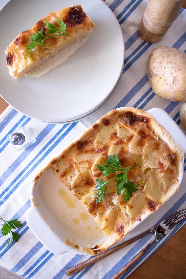 Pastel de patata... ¡Espectacular como entrante o guarnición!