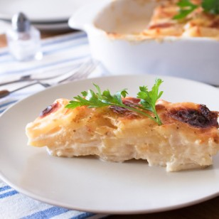 Delicioso pastel de patata