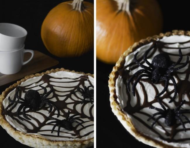 Recetas de Halloween: tarta de calabaza