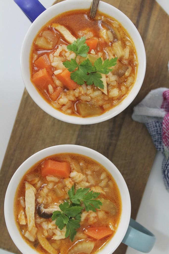 Las 34 recetas más originales de 'Eat Fashion:  Sopa de arroz