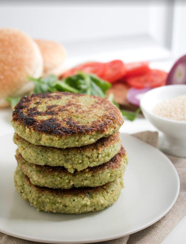 receta-hamburguesas-quinoa-espinacas