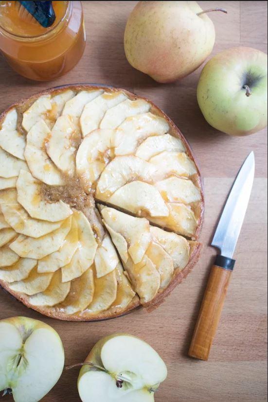 Pincha en la foto para ver dónde comer las mejores tartas de manzana
