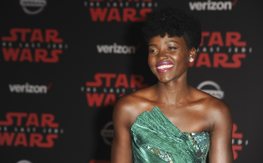 Premiere Star The Last JHi WarsH Featuring: Lupita Nyong'O Where: Los Angeles, California, United States When: 10 Dec 2017