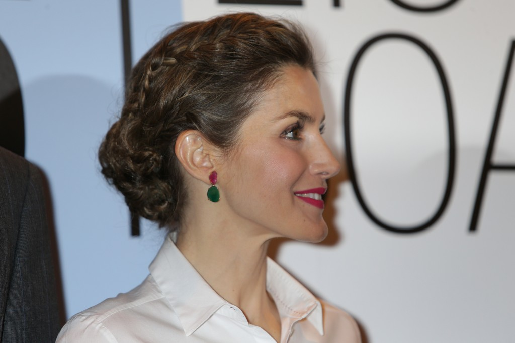 Detalles 'beauty' del look de la Reina en ARCO