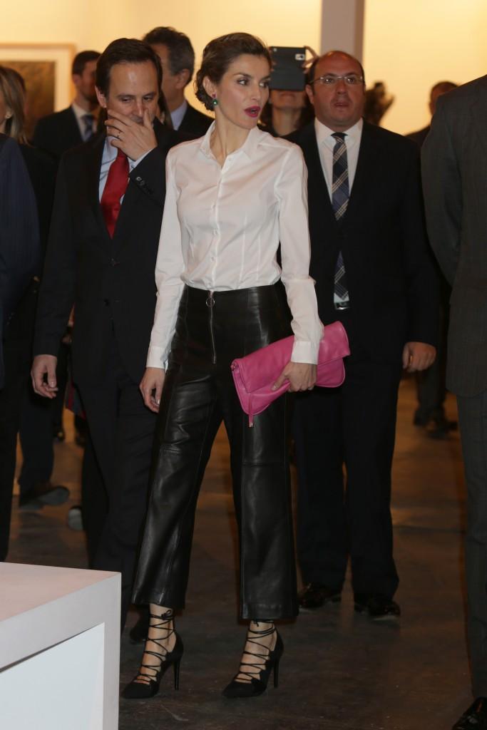 La Reina Letizia en ARCO