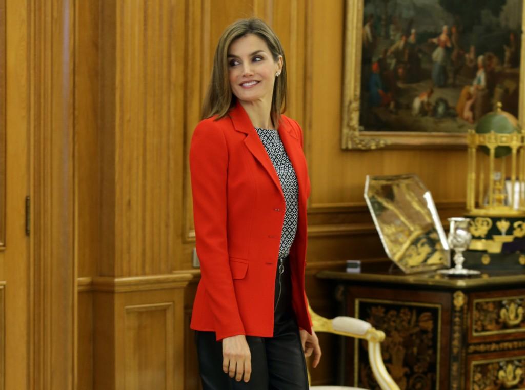 La Reina Letizia, con look 'made in Spain'