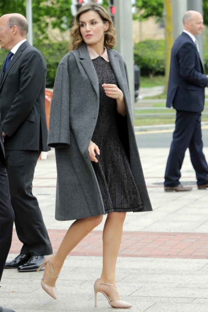 El look de la Reina en Bilbao
