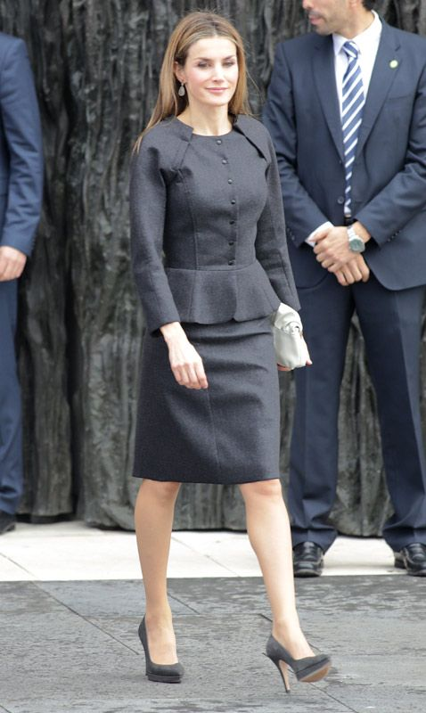 La Reina, con look de Nina Ricci
