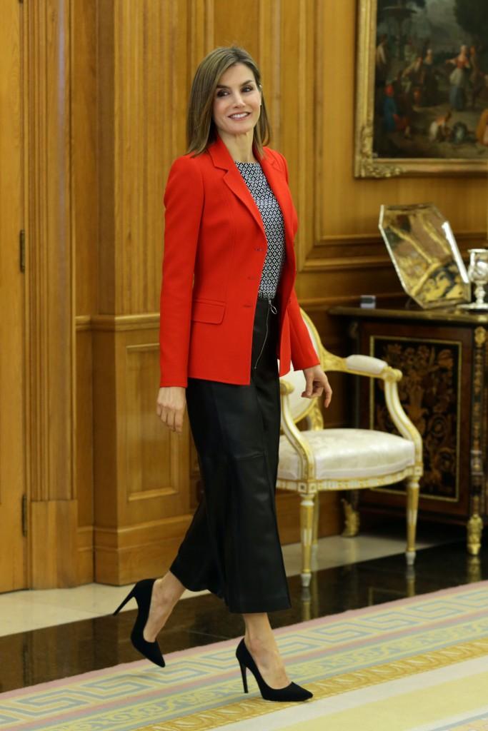 El look 'made in Spain' de la Reina