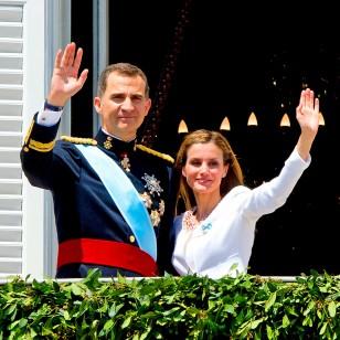Los Reyes, Felipe VI y Letizia