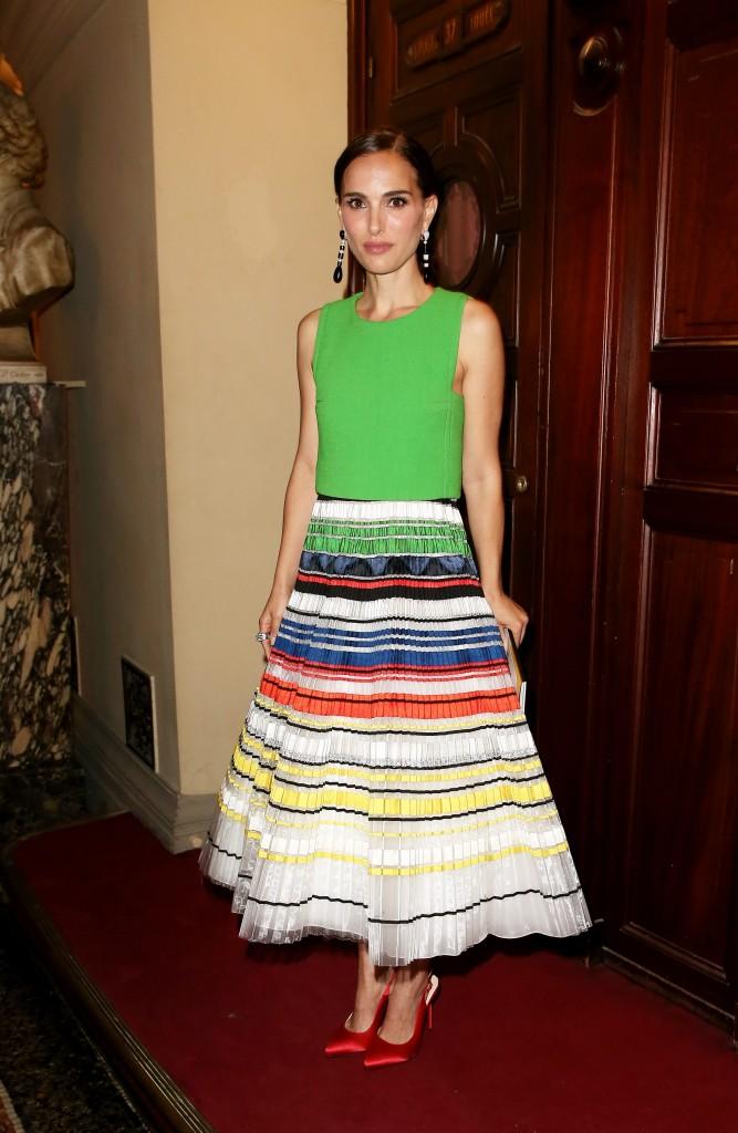 El conjunto de Dior de Natalie Portman