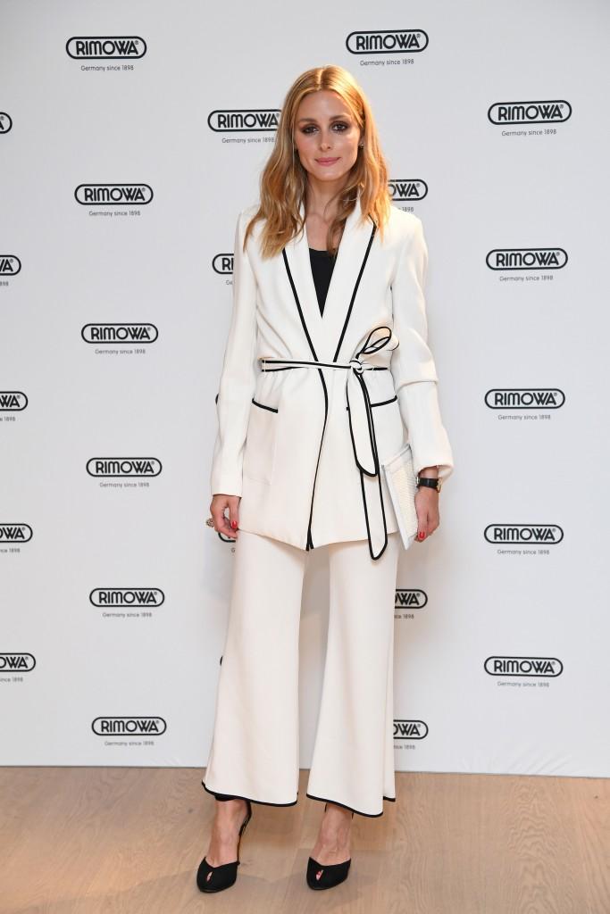El conjunto 'pijama' de Zara de Olivia Palermo