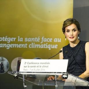 La Reina, en su discurso como embajadora de la FAO