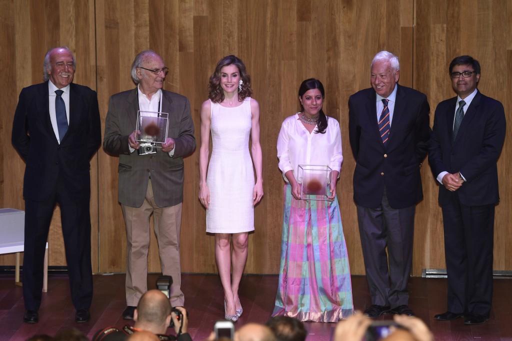 Letizia en los Premios España-India