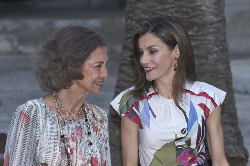 Doña Letizia y doña Sofía en Mallorca