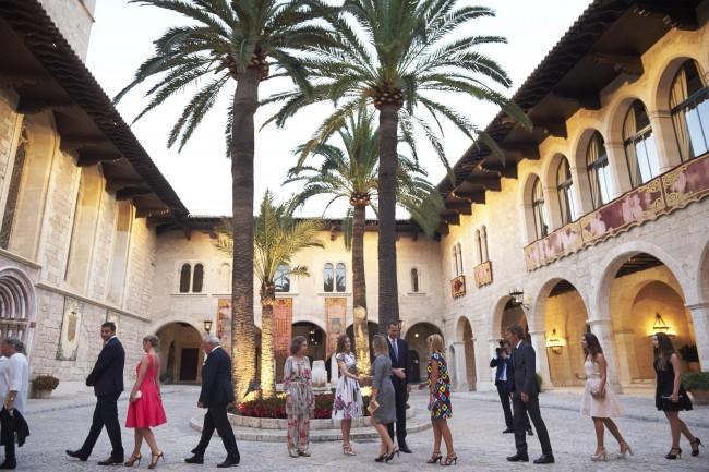 Recepción oficial en Palma de Mallorca
