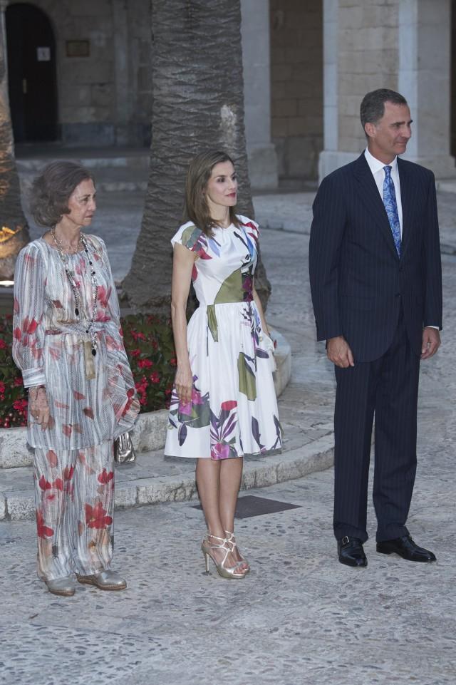 Recepción en el Palacio de Almudaina de Palma de Mallorca