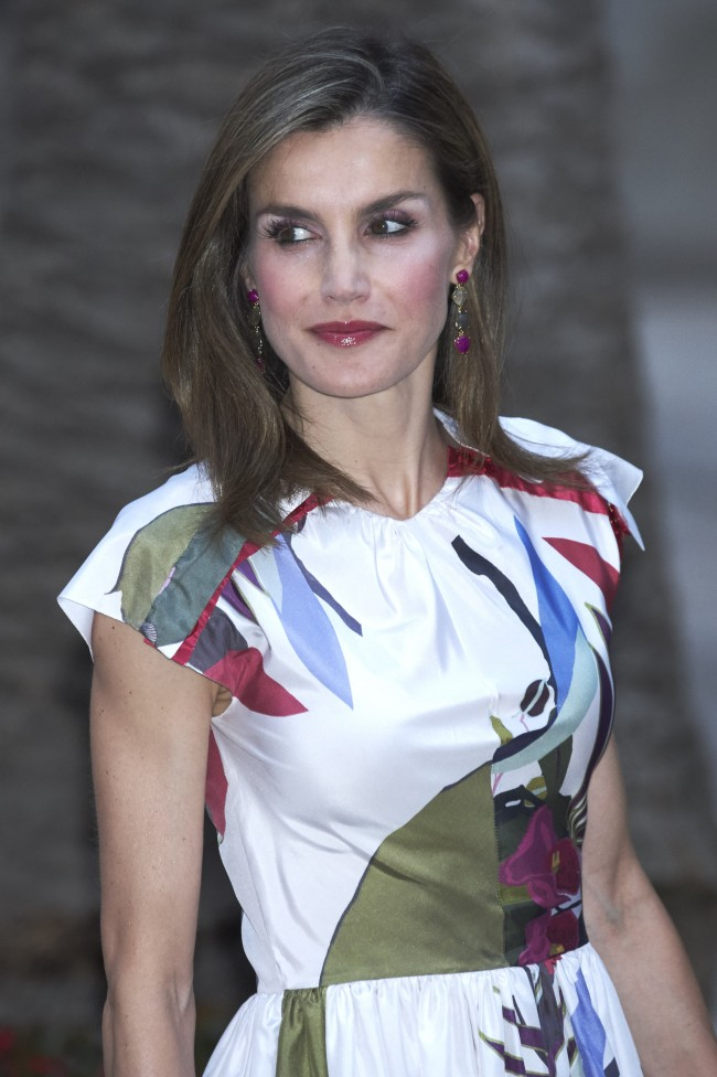 El look beauty de doña Letizia