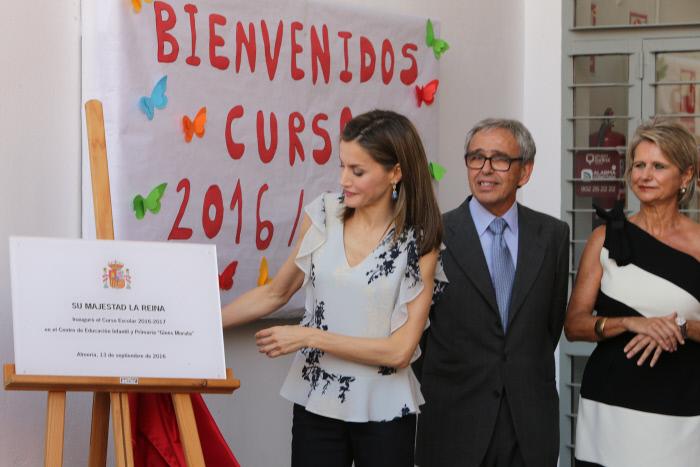 La Reina inaugura el curso escolar 2016