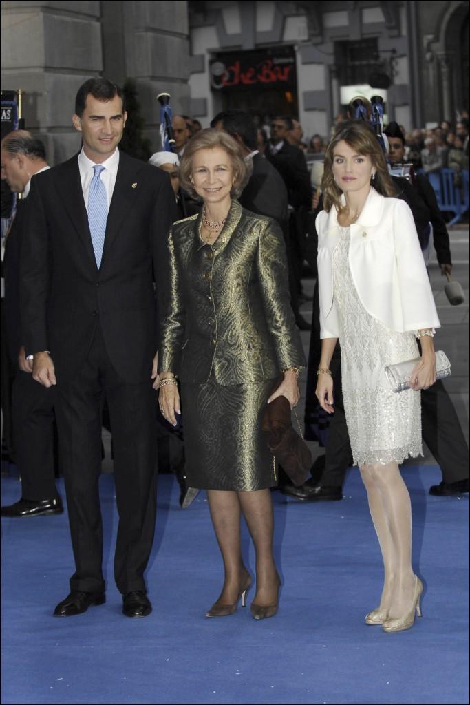 Doña Letizia, en los Premios Príncipe de Asturias 2007