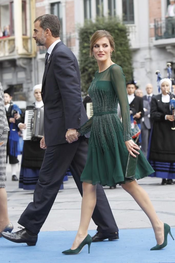 Doña Letizia, en los Premios Príncipe de Asturias 2013