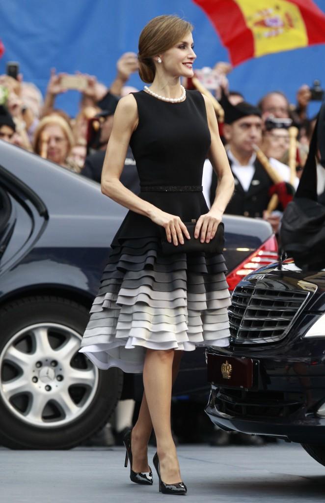 Doña Letizia, en los Premios Princesa de Asturias 2015