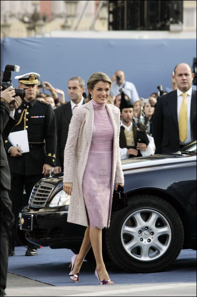 Doña Letizia, en los Premios Príncipe de Asturias 2006