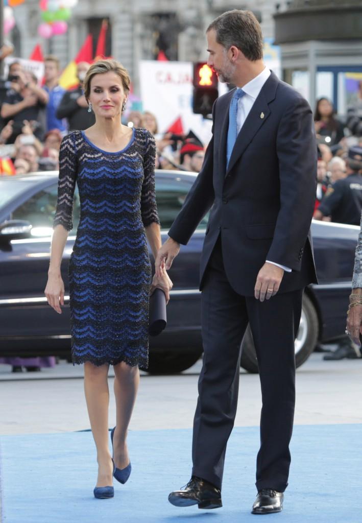 Doña Letizia, en los Premios Príncipe de Asturias 2014