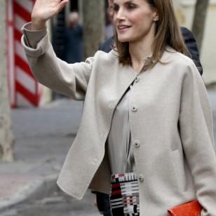 El look menos favorecedor de la reina Letizia