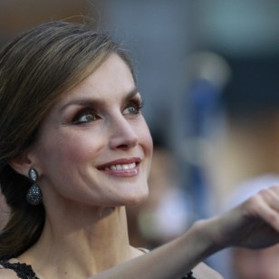 Queen Letizia Ortiz Spanish during the Princess of Asturias Awards 2016 in Oviedo, on Friday 21th October 2016