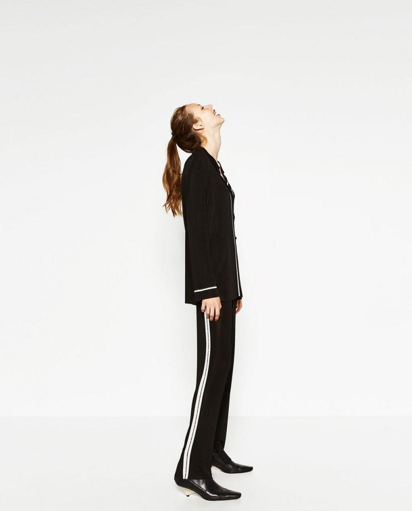 Pantalón de Zara (39,95 euros)