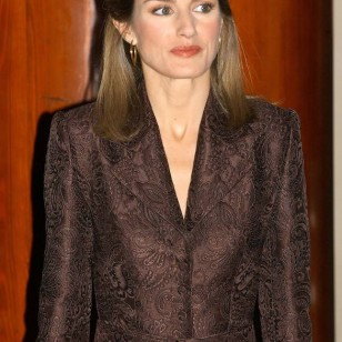 La Reina Letizia en 2004