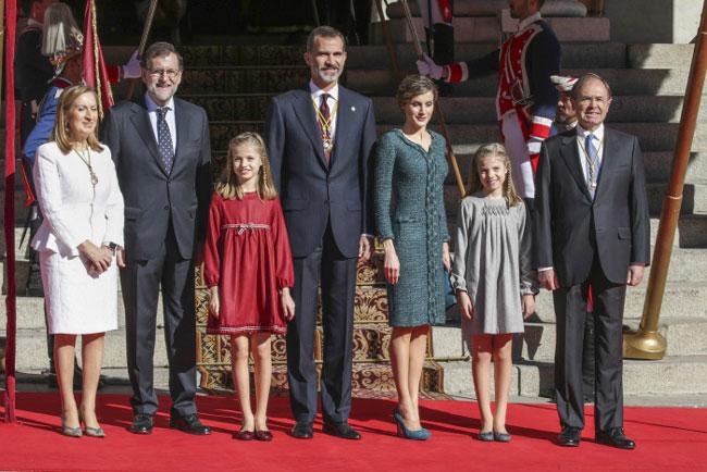 Letizia repite vestido de Varela
