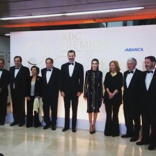 La Reina Letizia en los Premios ABC de Periodismo