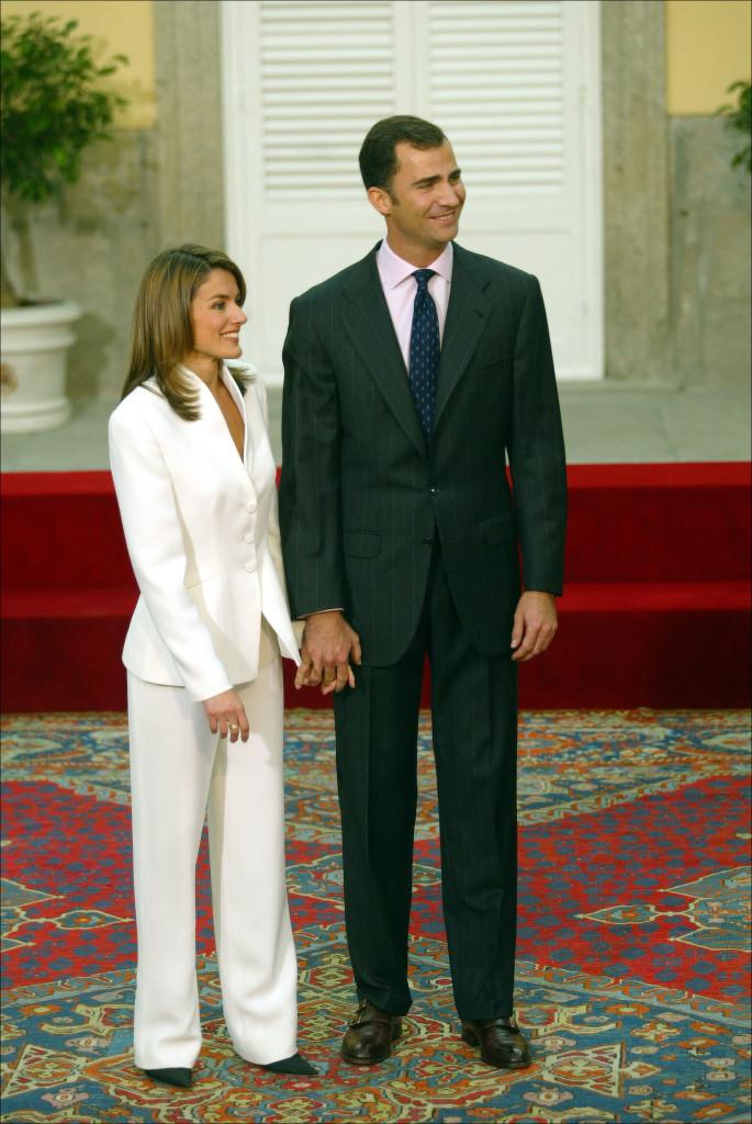 EN EL PALACIO DEL PARDO JJS / © KORPA 06/11/2003 MADRID *** Local Caption *** PROPOSAL OF MARRIAGE OF PRINCES OF ASTURIAS.