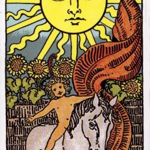 Carta del tarot: El sol
