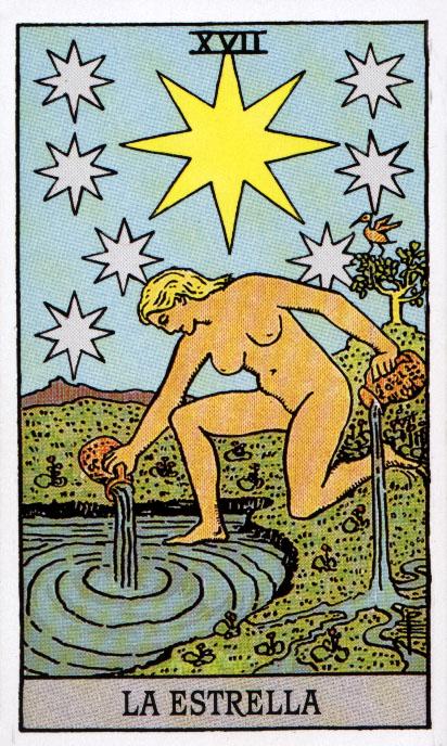 Significado De Las Cartas Del Tarot La Estrella Mujerhoy Com