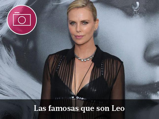 Famosas que son Leo