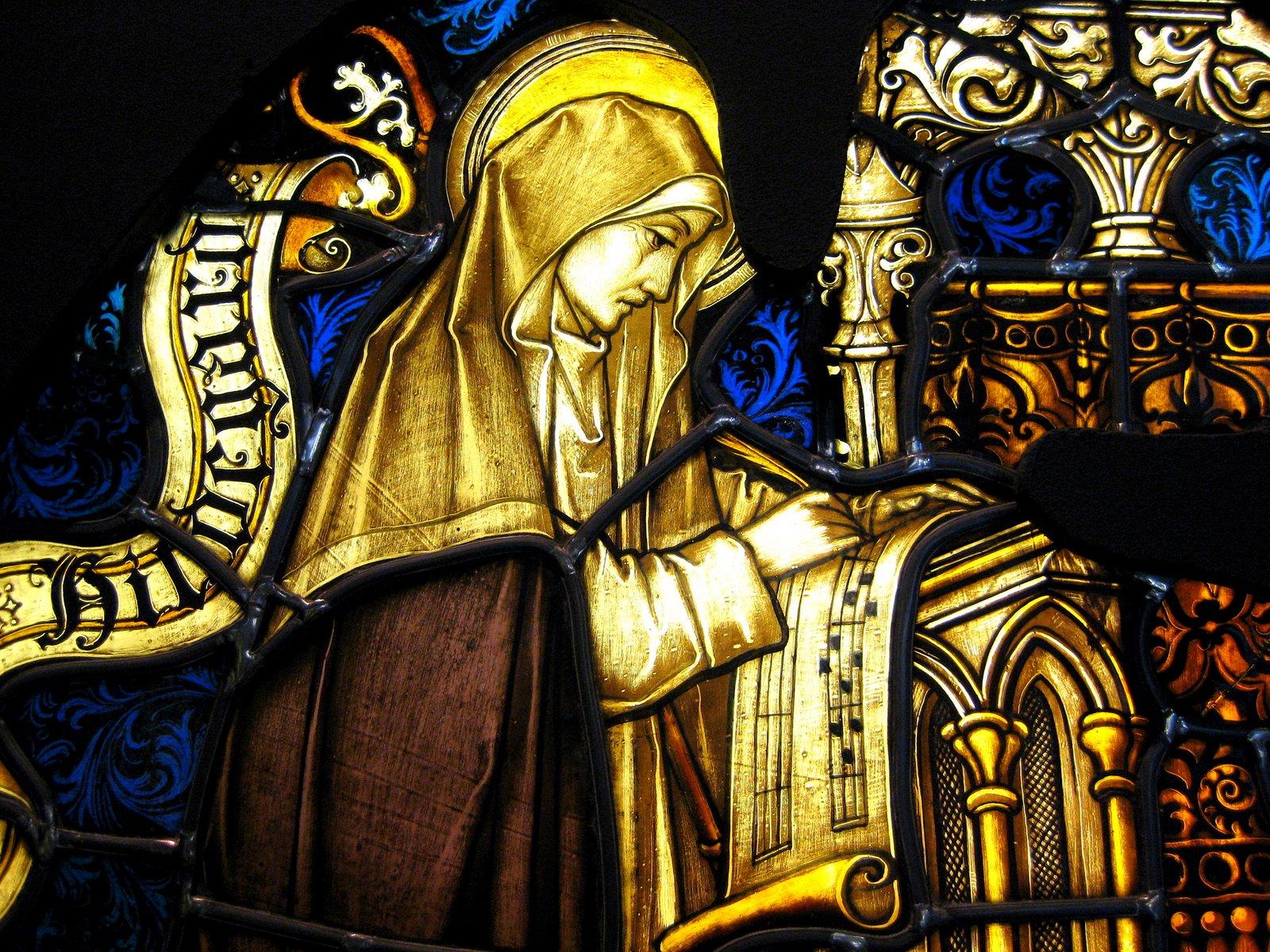 Imagen de Santa Hildegarda de Binguen del Museum - Hildegard von Bingen. forosdelavirgen.org