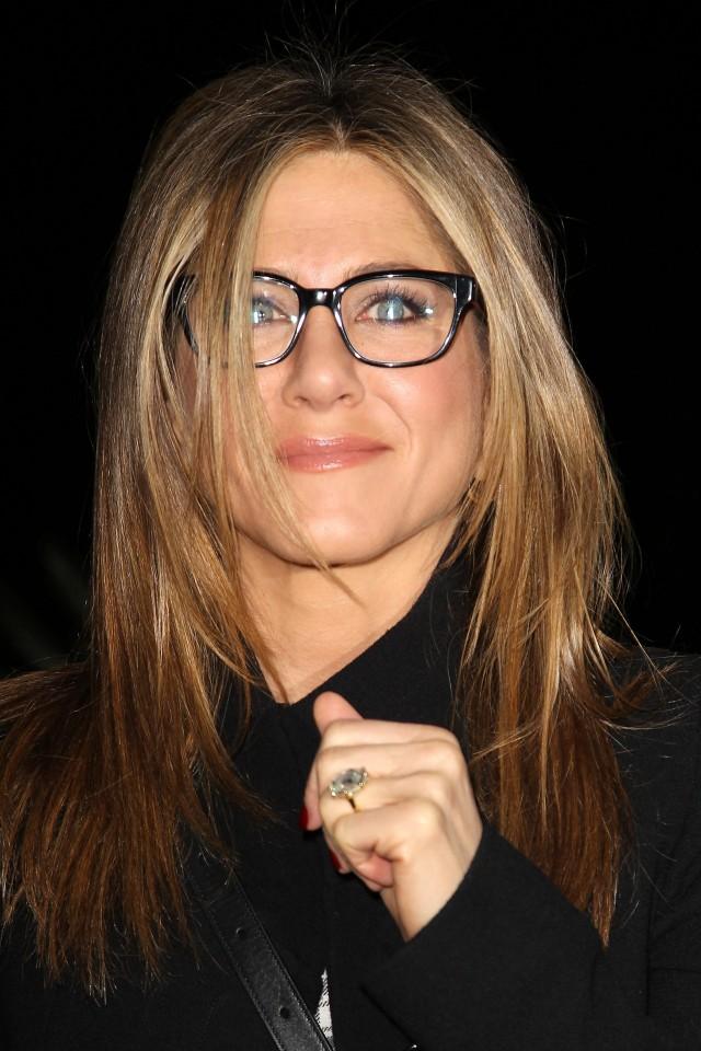 Jennifer Aniston con gafas