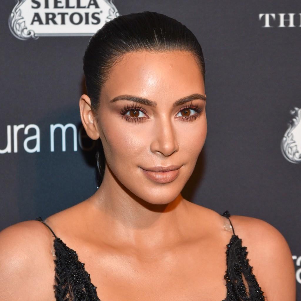 Pestanas postizas: Kim Kardashian